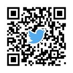TwitterアカウントQRコード